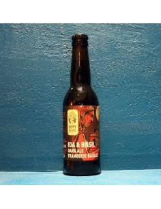 Ida & Basil Dark Ale Framboise Basilic - 33 cl - Hoppy Road