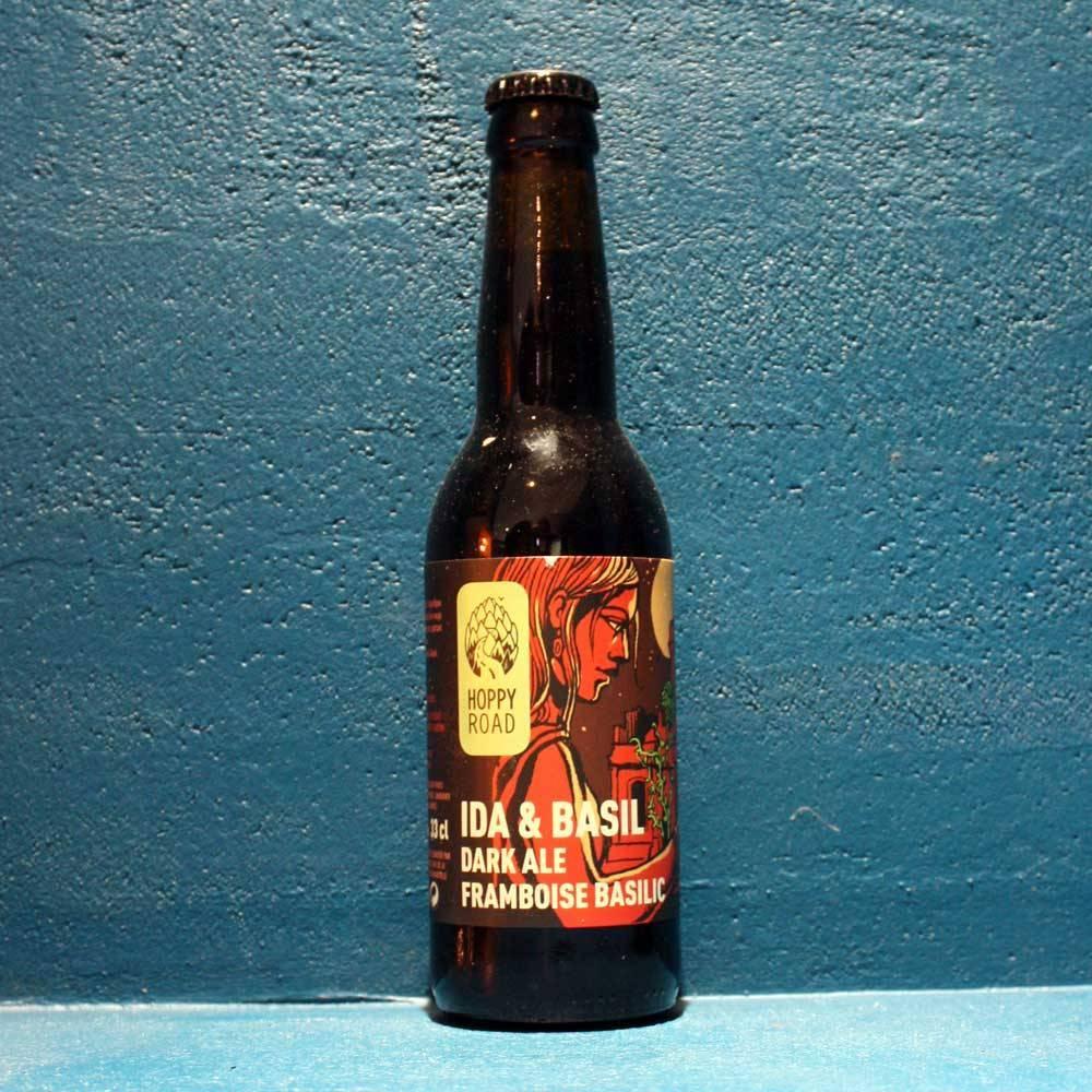 Ida & Basil Dark Ale Framboise Basilic - 33 cl - Hoppy Road Brasserie