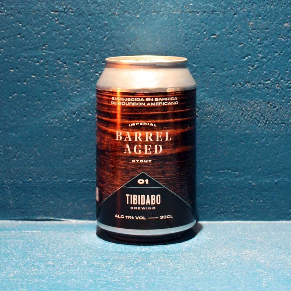 Barrel Aged 1 Imperial Stout Bourbon - 33 cl - Tibidabo Brewing