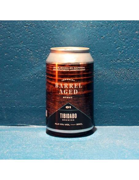 Barrel Aged 1 Imperial Stout Bourbon - 33 cl - Tibidabo Brewing
