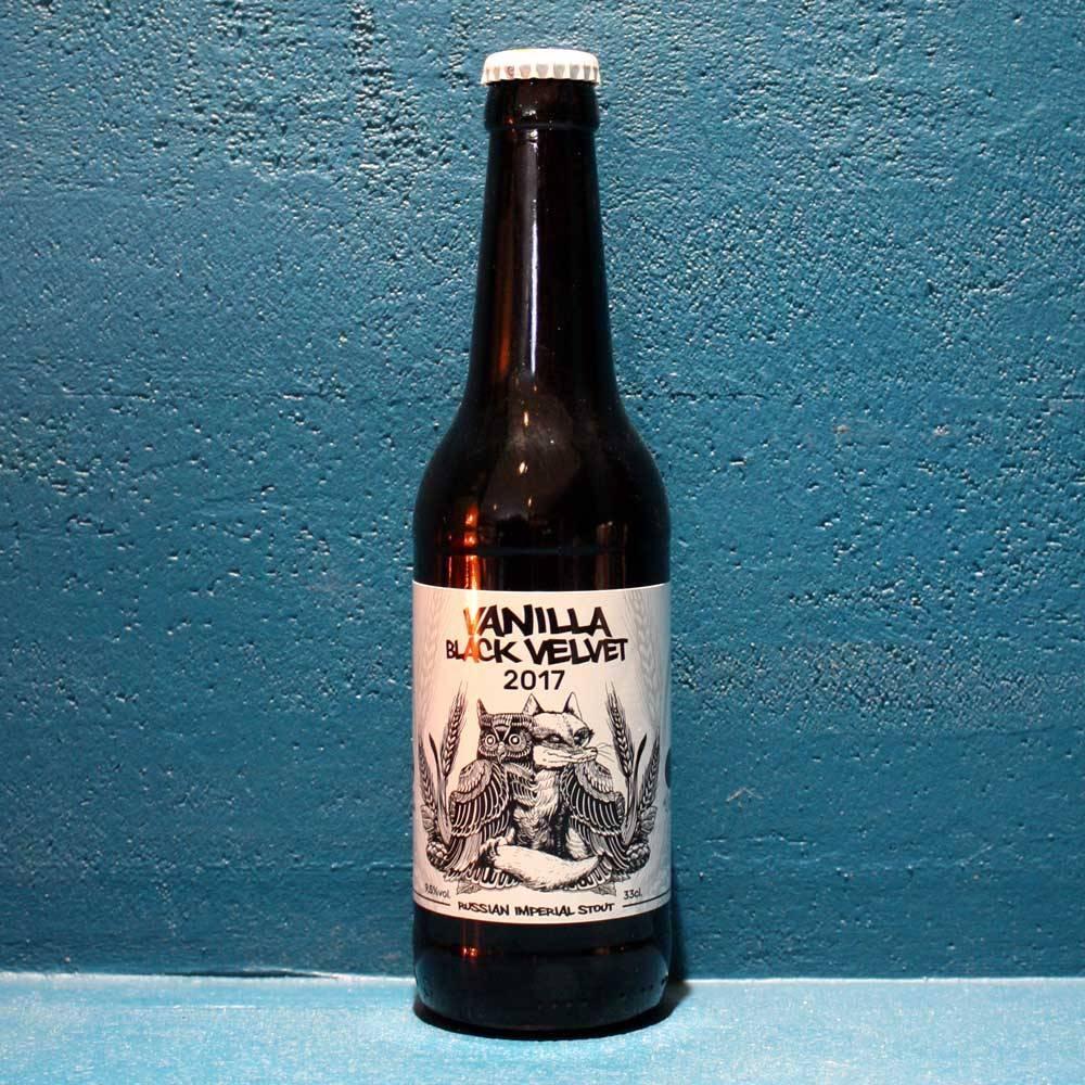 Vanilla Black Velvet - 33 cl - La Quince Brewery x Cervesa Guineu