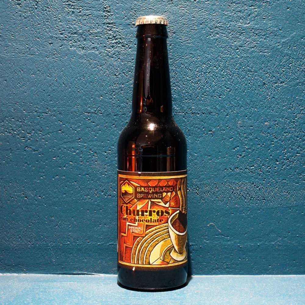 Churros Con Chocolate - 33 cl - Basqueland Brewing Project