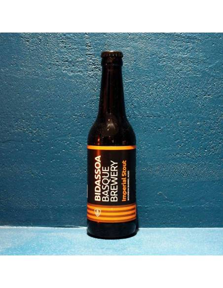 Imperial Stout Bourbon Barrel Aged - 33 cl - Bidassoa Basque Brewery