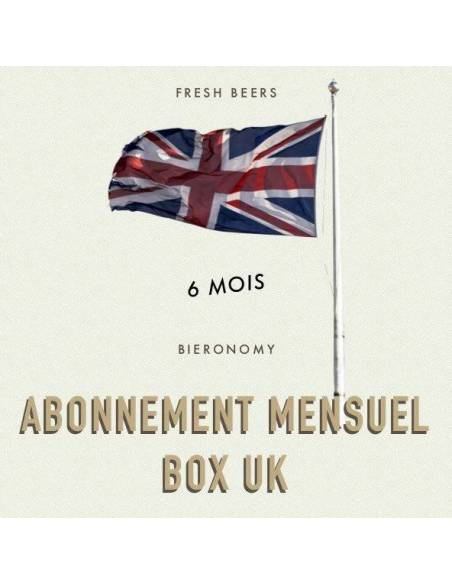 Abonnement Mensuel UK Fresh Beers Box - 6 mois