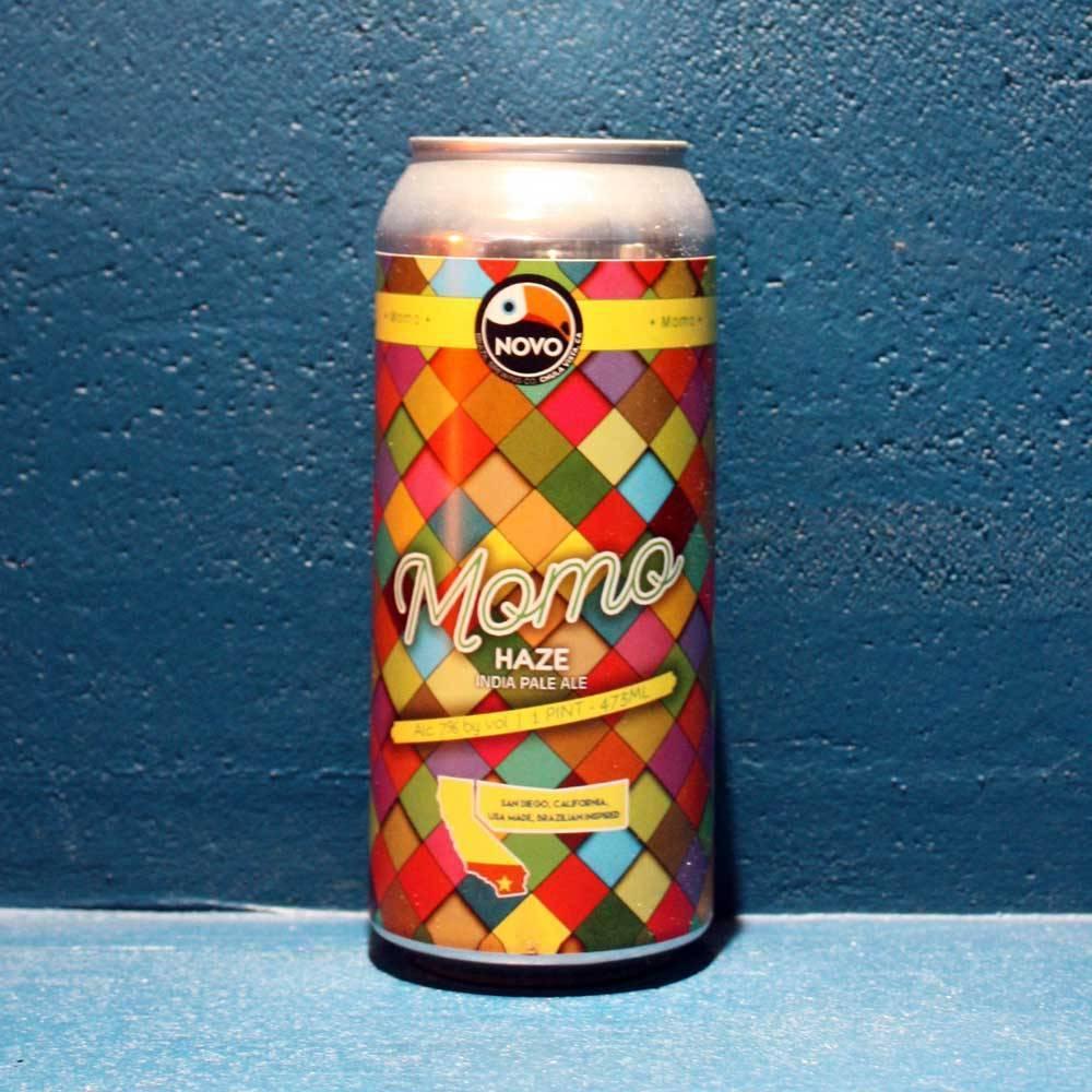 Momo Haze India Pale Ale - 47,3 cl - Novo Brazil Brewing Co