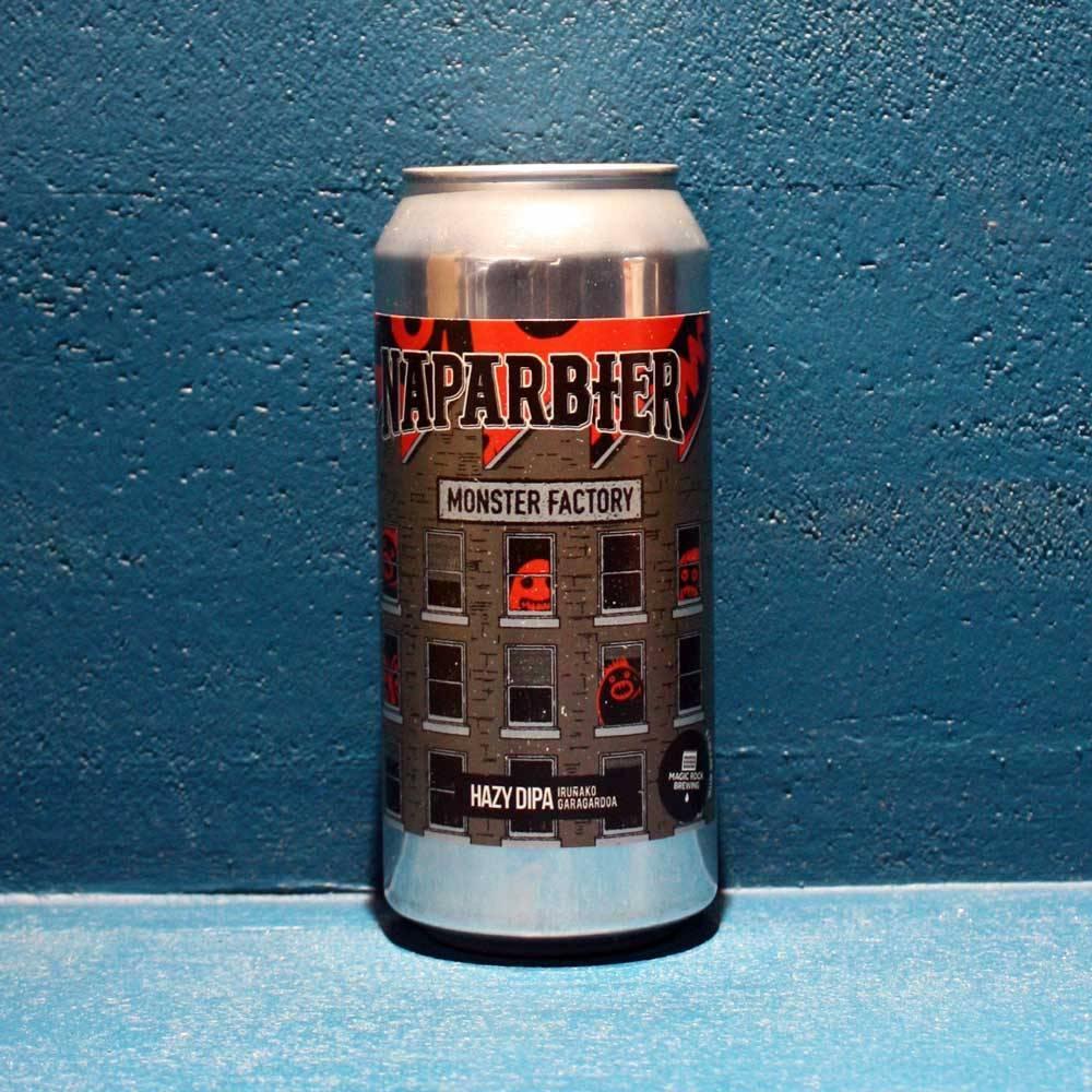 Monster Factory Double Hazy IPA Naparbier x Magic Rock Bière Artisanale Craft Beer Bieronomy
