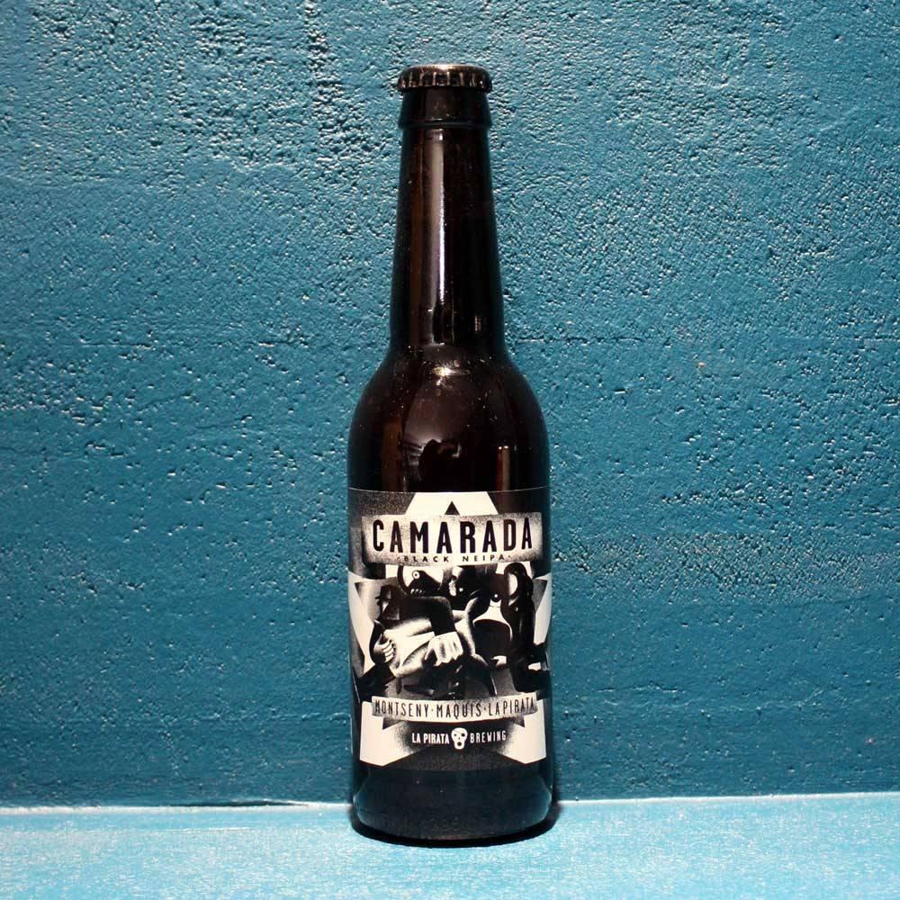 Camarada Cerveses La Pirata Black New England IPA Bière Artisanale Craft Beer Espagne Bieronomy