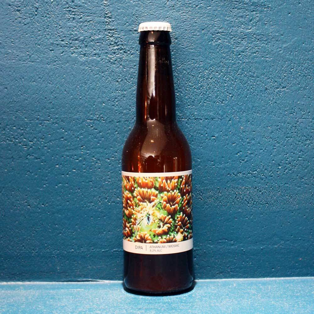 Double IPA Athanum Mosaic Brasserie Popihn Yonne Bière Artisanale Craft Beer Bieronomy