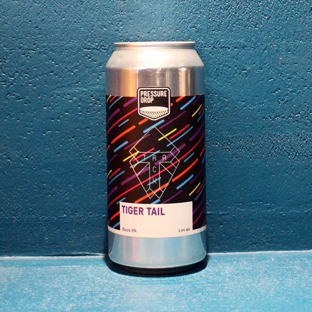 Tiger Tail Black IPA Pressure Drop Brewing Track Bière Artisanale Black IPA Craft UK Bieronomy