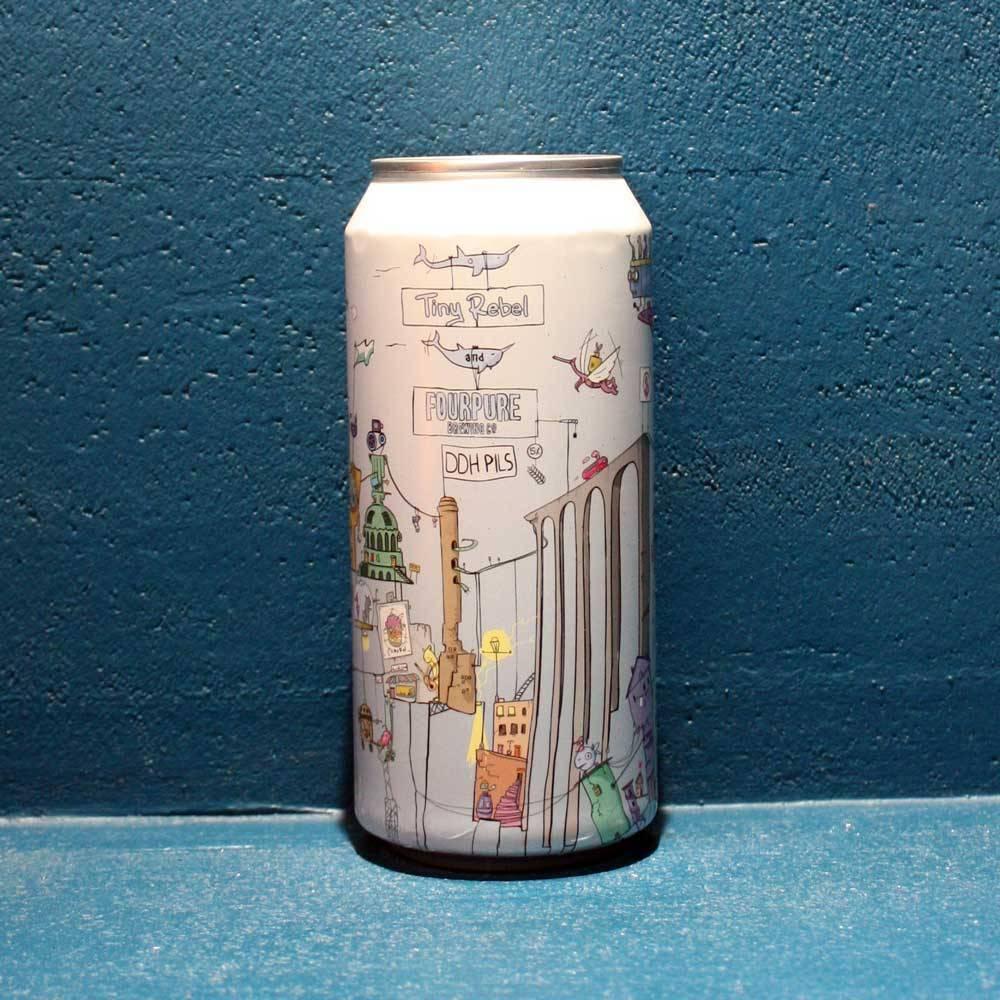 DDH Pilsner Tiny Rebel Brewing Co Fourpure Bière Artisanale Craft UK Bieronomy