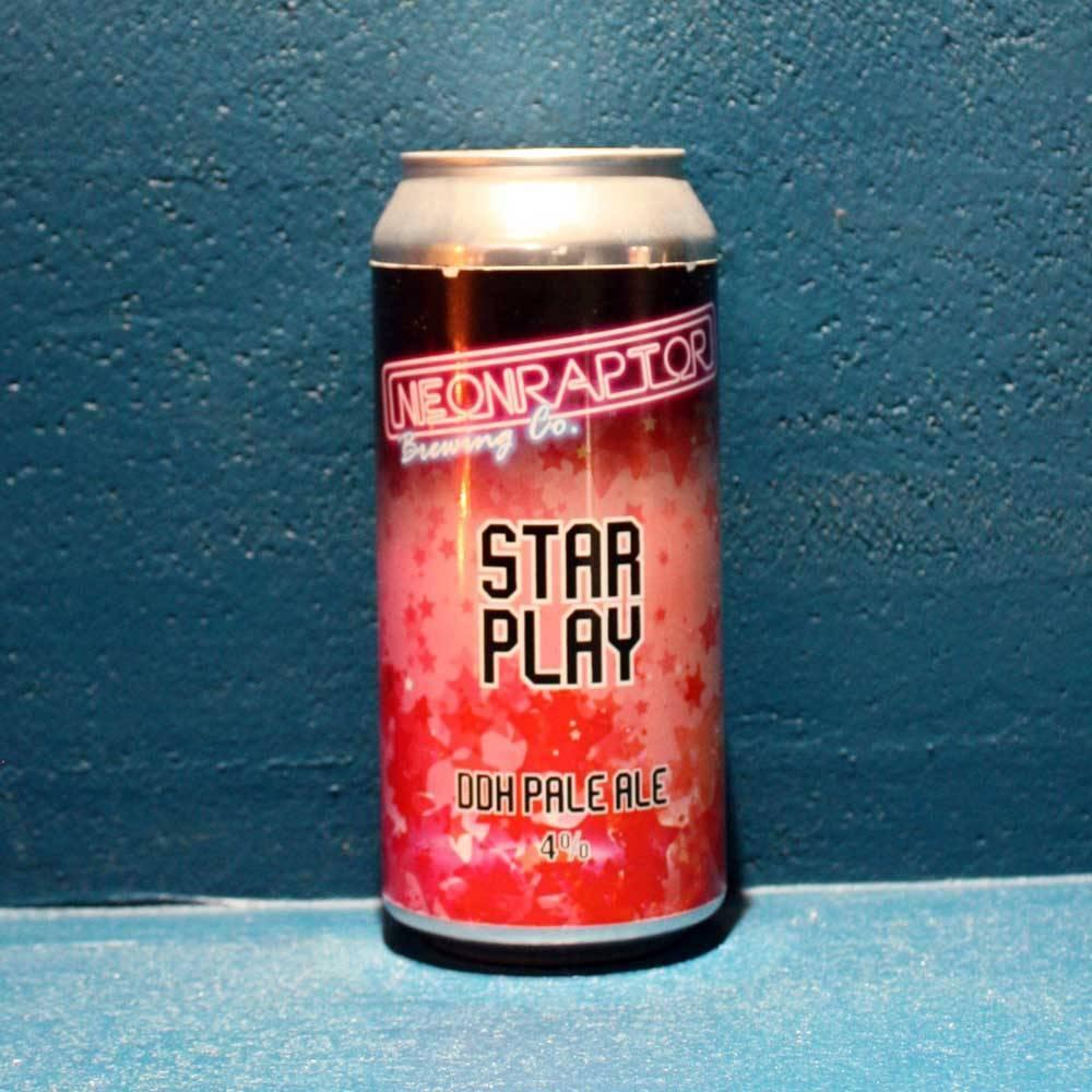 Star Play DDH Pale Ale - 44 cl - Neon Raptor Brewing Co - Bière Artisanale UK Bieronomy
