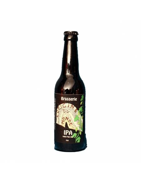 IPA India Pale Ale Brasserie L'Origine du Monde Bière Artisanale Craft Beer Jura Blonde houblonnée Bieronomy