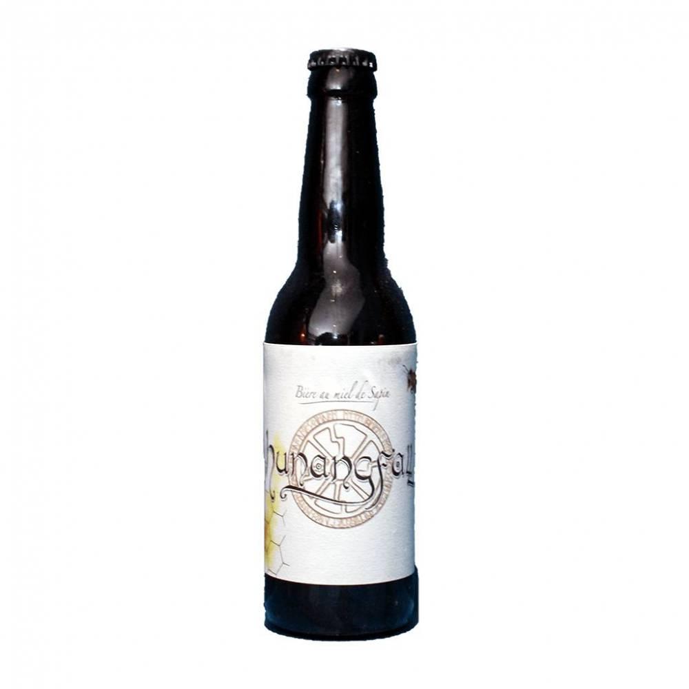 Hunangfall Brasserie Ouroboros Bière Artisanale Craft Beer Blonde au Miel de Sapin Bieronomy