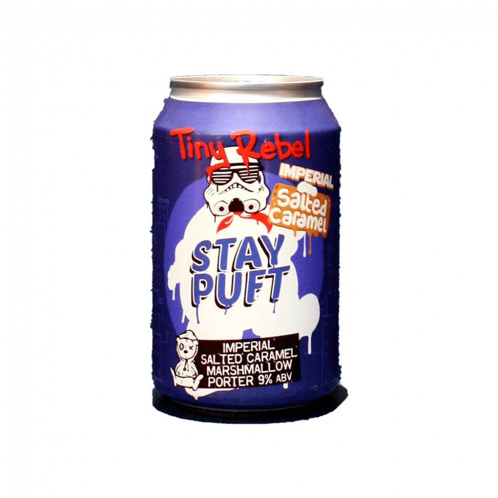 Stay Puft Imperial Salted Caramel Tiny Rebel Brewing Bière Artisanale UK Pays de Galles Craft Bieronomy