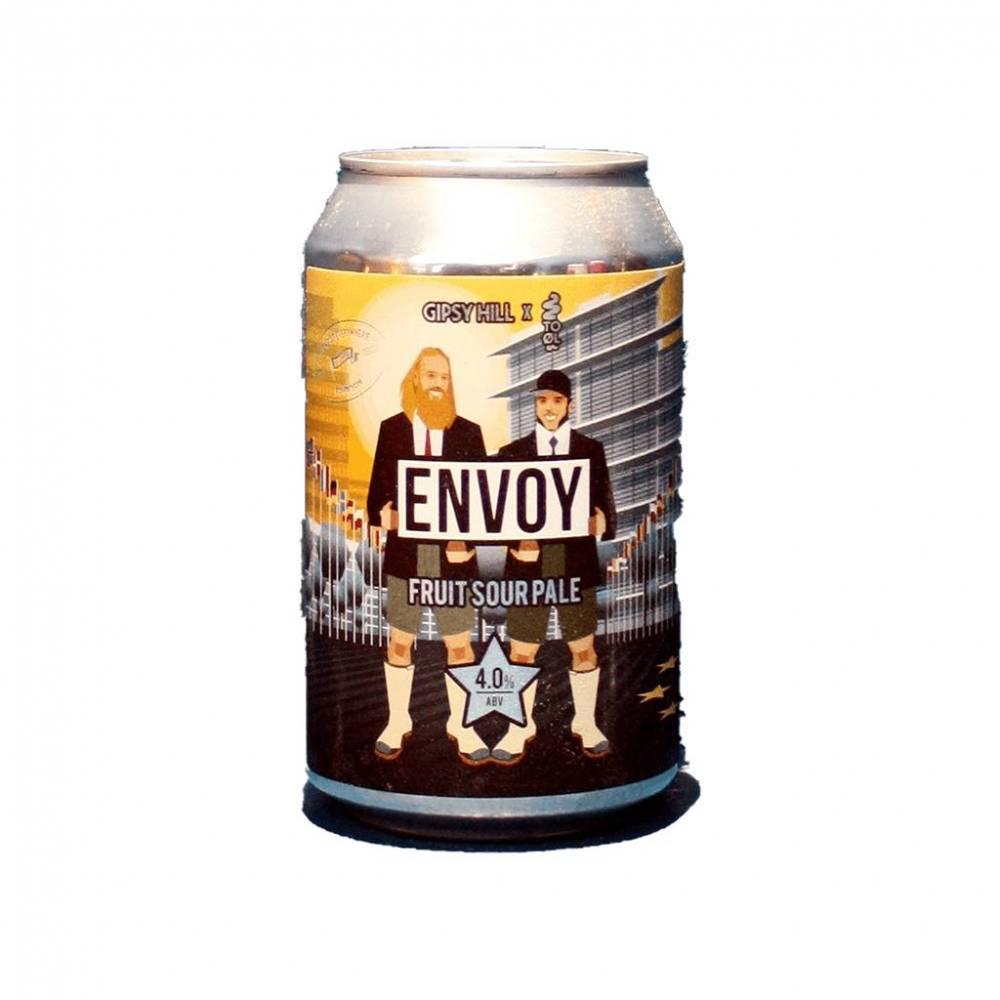Envoy Gipsy Hill Brewing Co To Øl Bière Artisanale Fruit Sour Pale Bieronomy