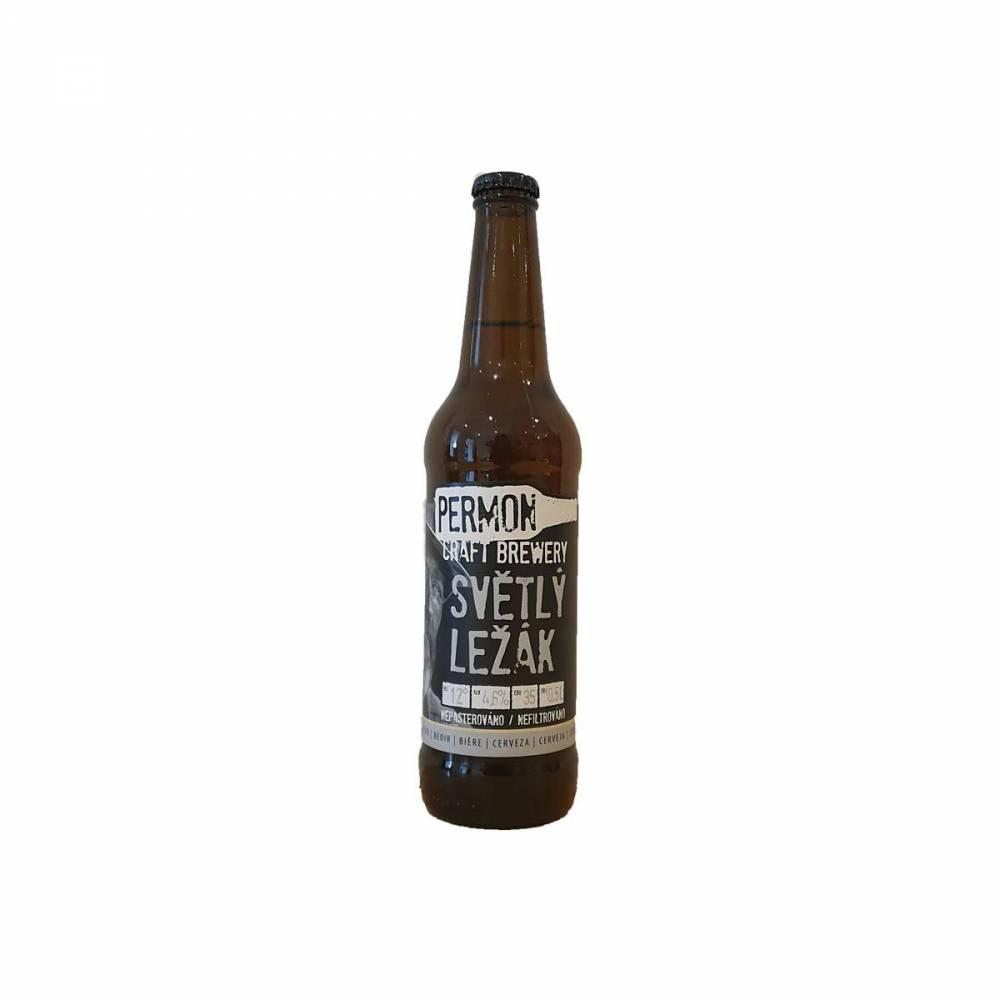 Permon Svetly Lezak Bière Lager Permon Craft Brewery