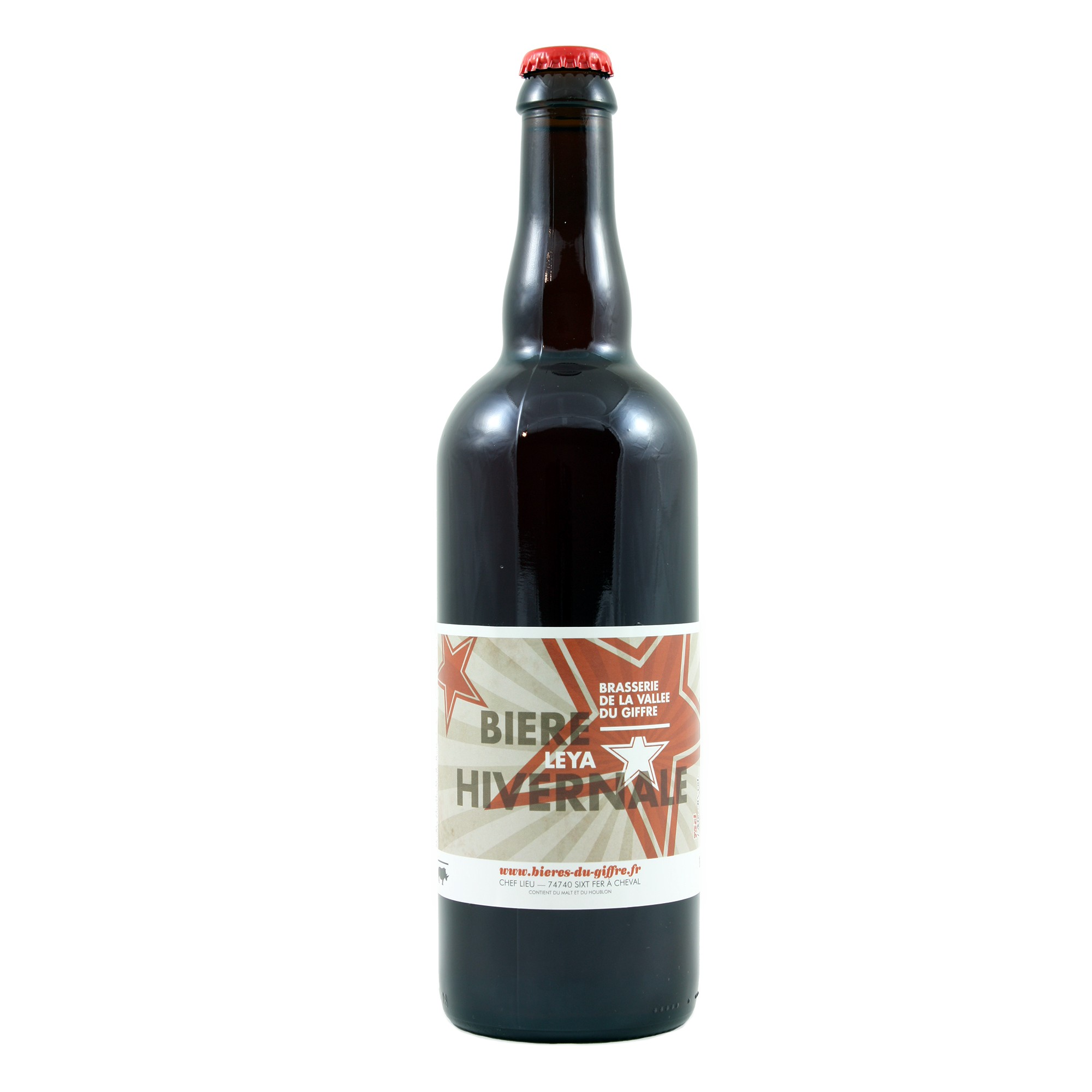 Bière Hivernale Leya au Thé 75 cl