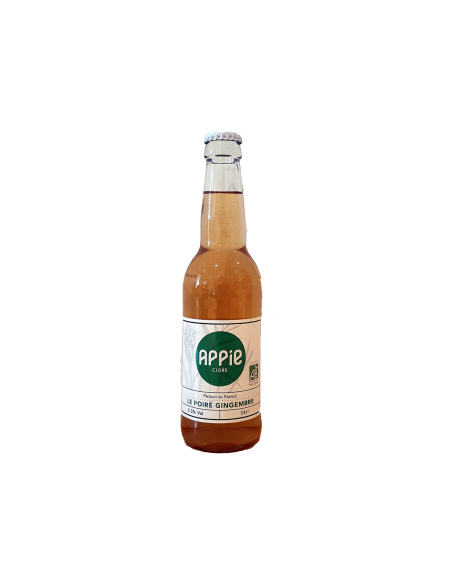 Poiré Gingembre Bio - 33 cl - Appie Cidre