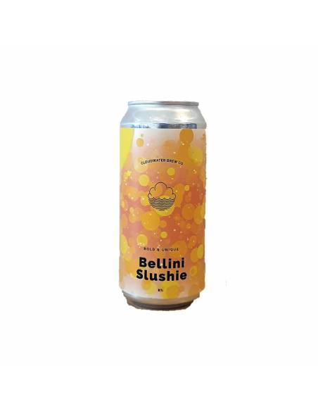 Peach Bellini Slushie - 44 cl - Cloudwater