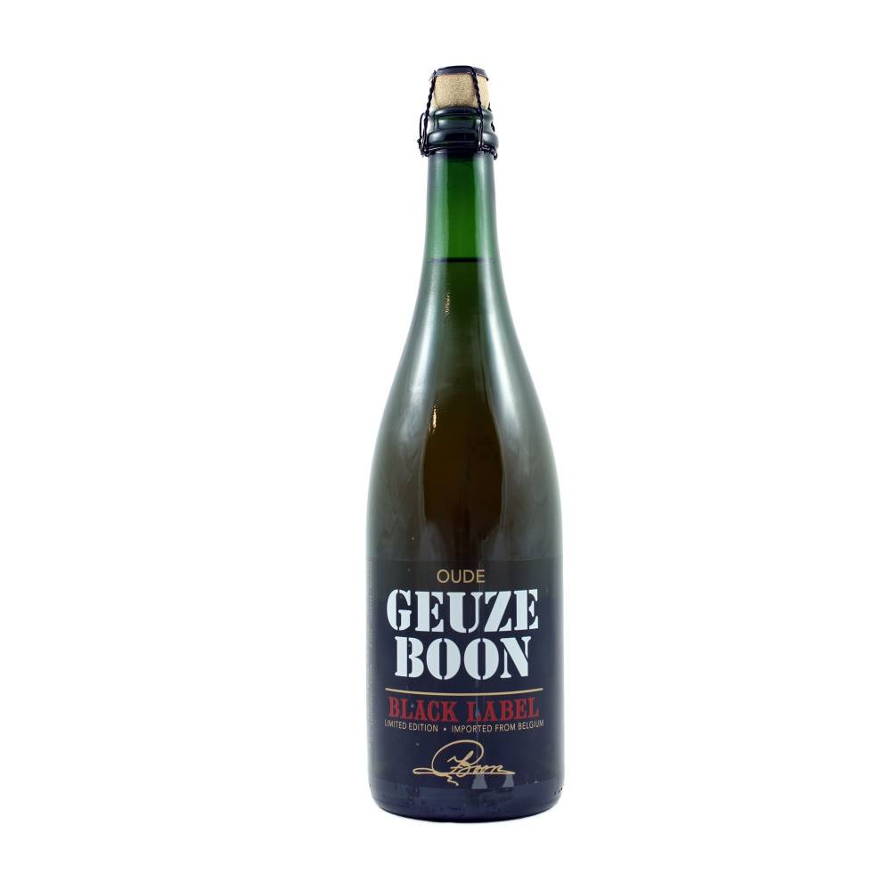 Oude Geuze Boon Black Label 75 cl