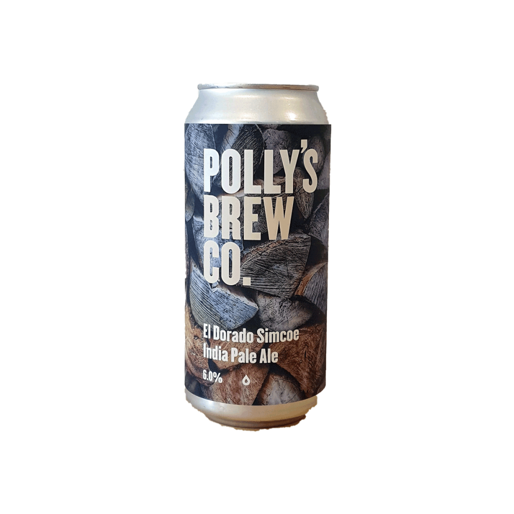 El Dorado Simcoe IPA - 44 cl - Polly's Brew Co