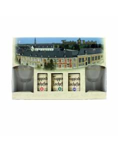 Coffret Rochefort 3x33 cl + 2 verres