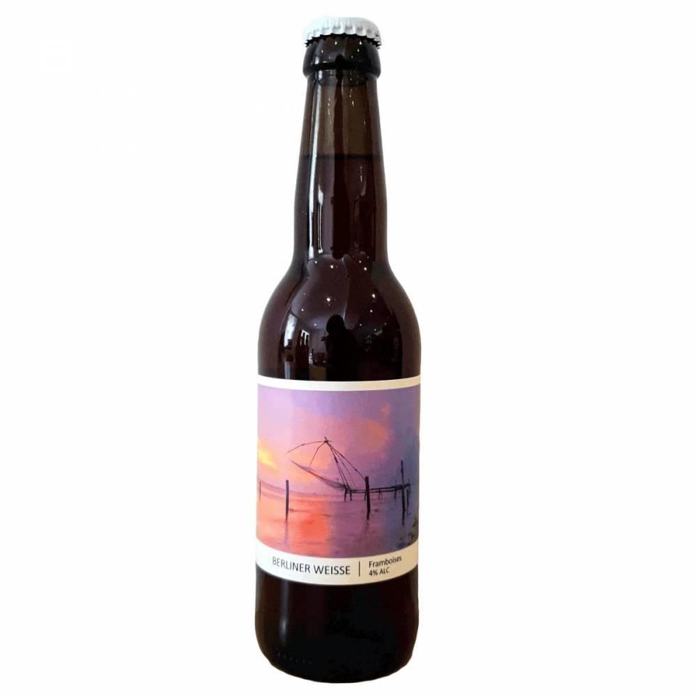 Bière Berliner Weisse Framboises - Brasserie Popihn - Bieronomy