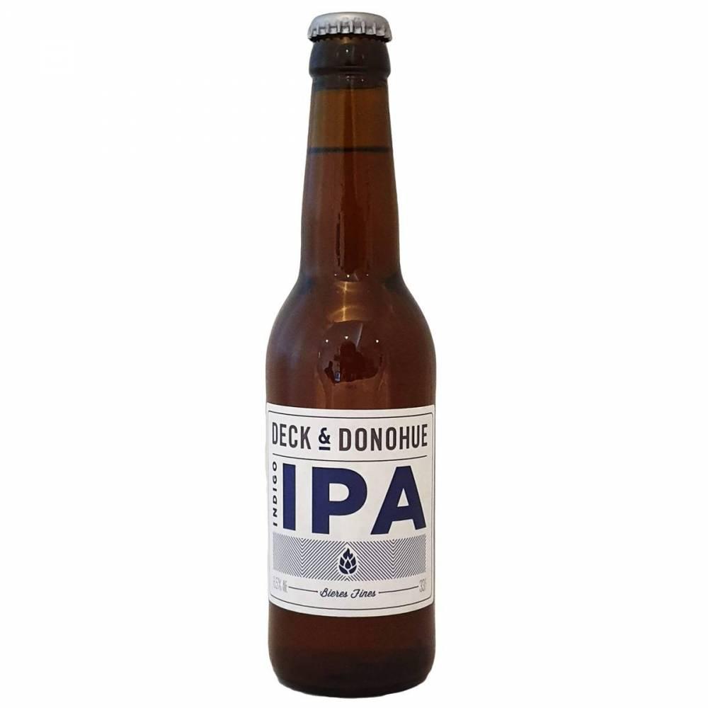 Bière Indigo IPA 33 cl Deck & Donohue Bieronomy