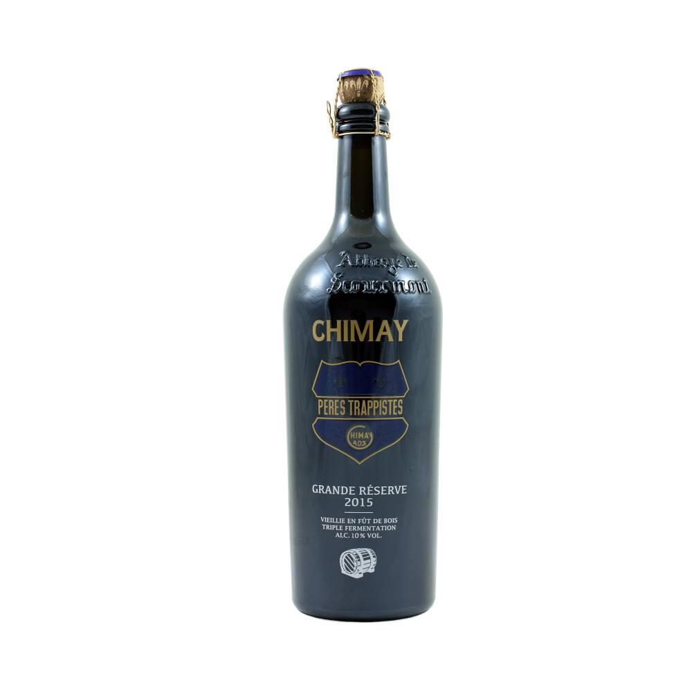 Chimay Grande réserve 2015 vieillie en fût 75 cl