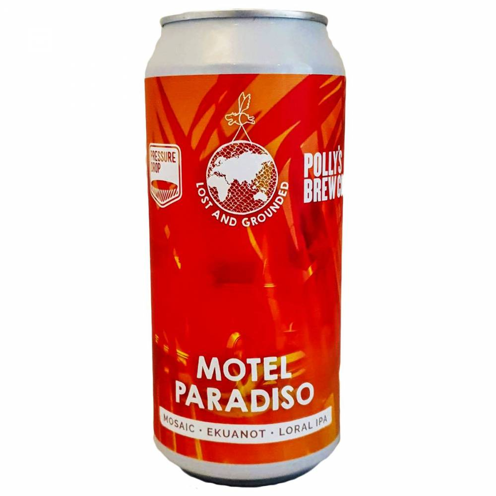 Motel Paradiso IPA Lost And Grounded x Pressure Drop x Polly's Brew