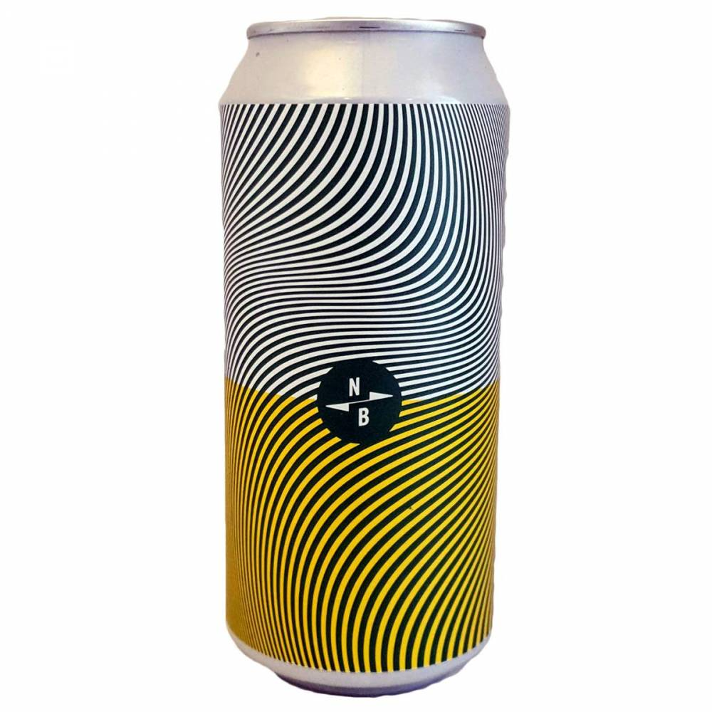 Triple Fruited Gose: Peach + Jasmine + Glutinous Rice - 44 cl - North Brewing x Gipsy Hill