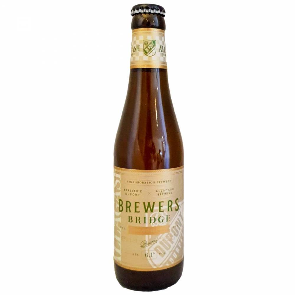 Bière Brewers' Bridge - Brasserie Dupont x Allagash Brewing Company