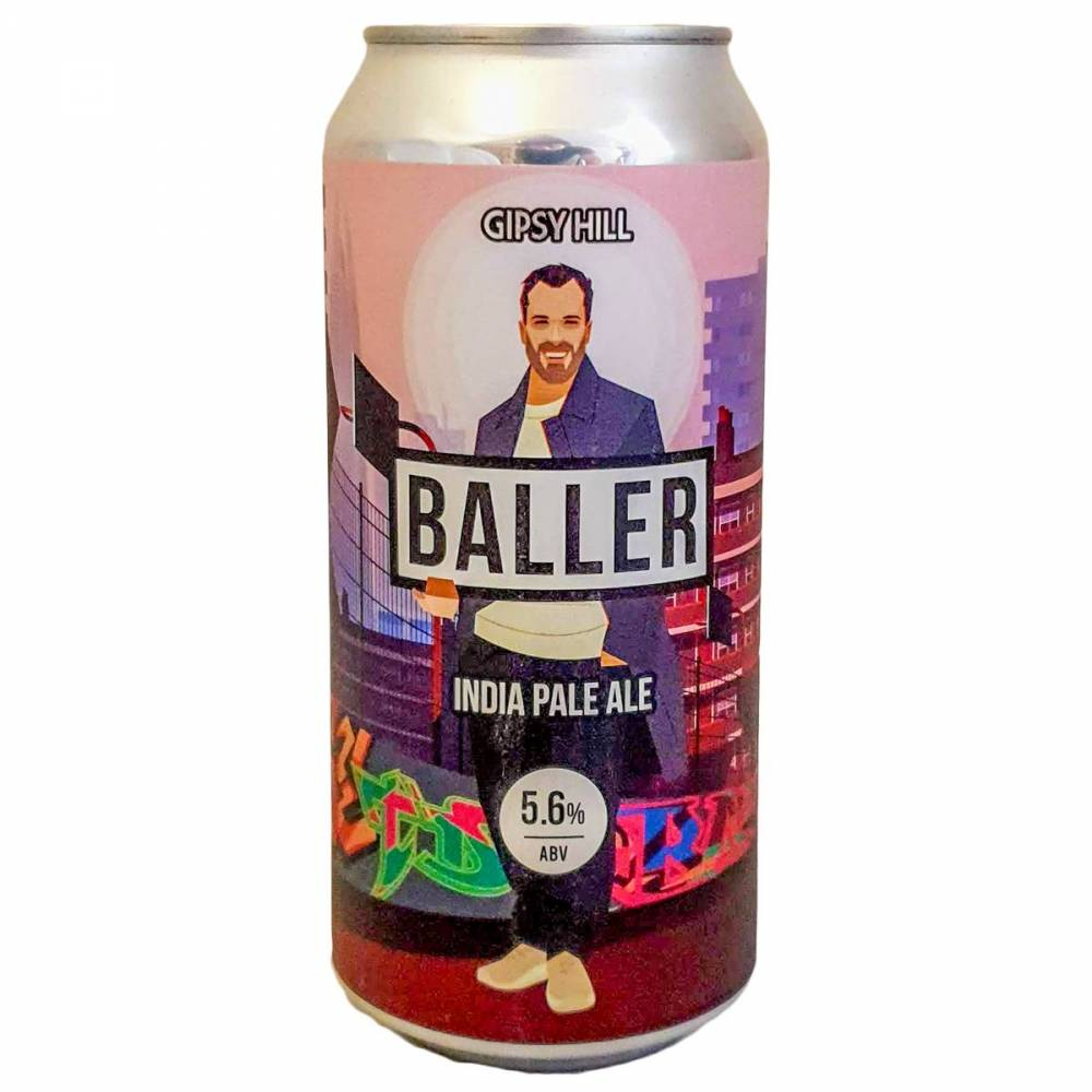 Bière Baller IPA New England - 44 cl - Gipsy Hill Brewing Company