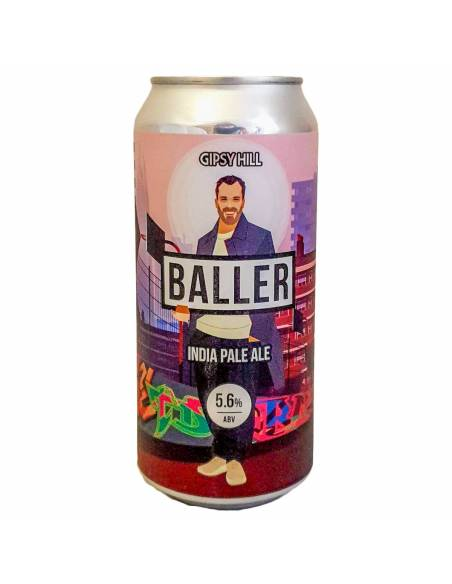 Baller IPA - 44 cl - Gipsy Hill - DLUO 13/08/19