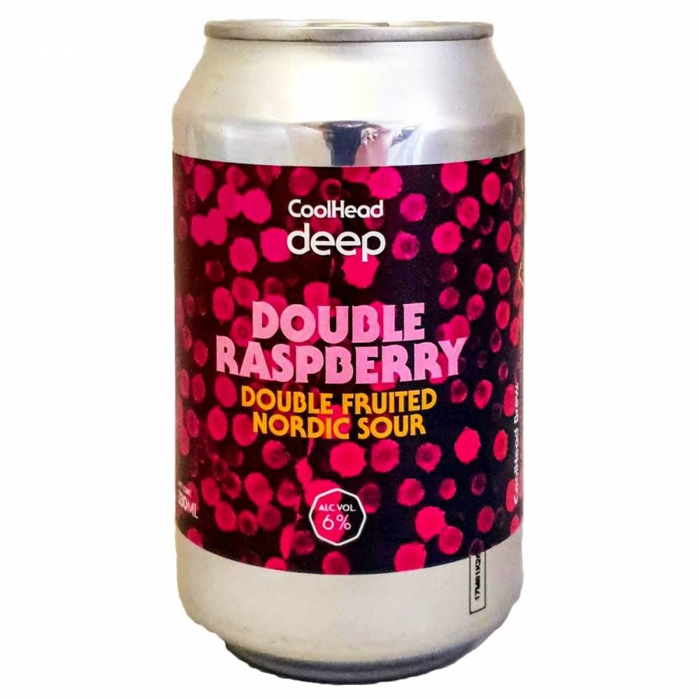 Bière Deep Double Raspberry Gose - CoolHead Brew