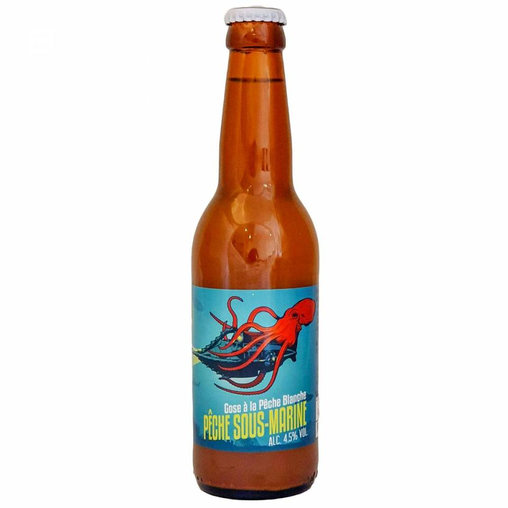 Bière Pêche Sous-Marine Gose Sour Brasserie du Grand Paris x Octopussy