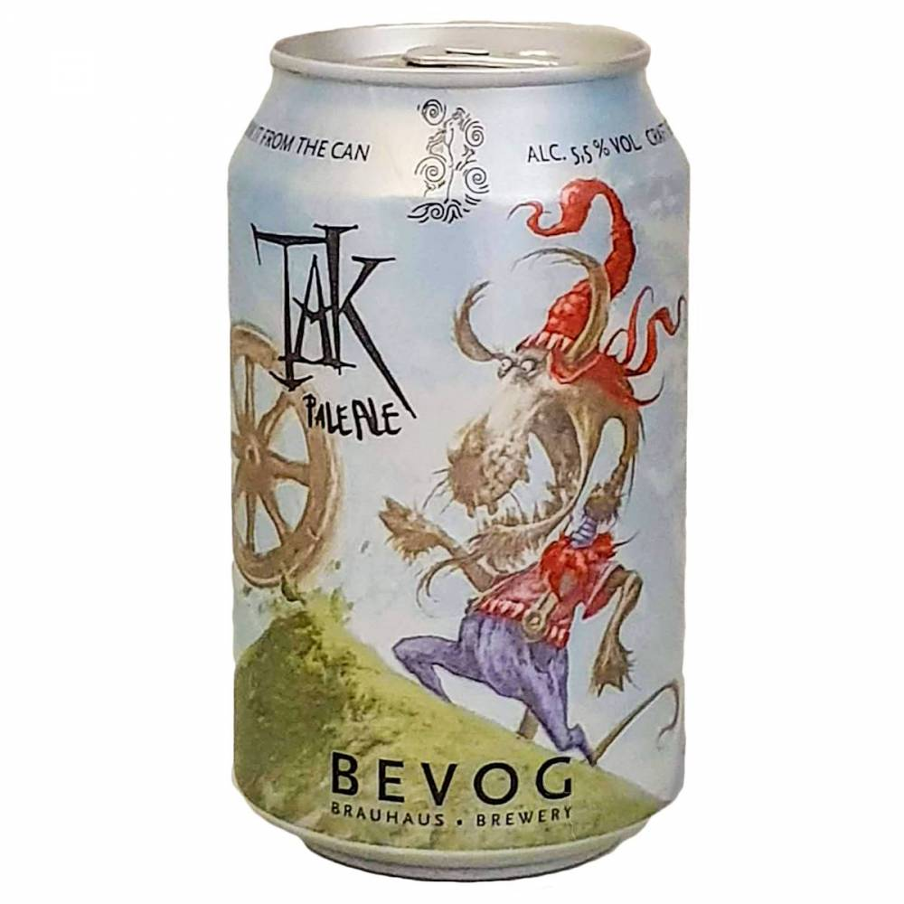 Bière Tak Pale Ale - 33 cl - Bevog Brewery