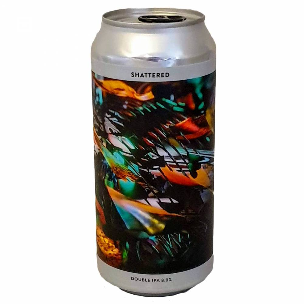 Bière Shattered DIPA - 44 cl - Gamma Brewing Company x Verdant
