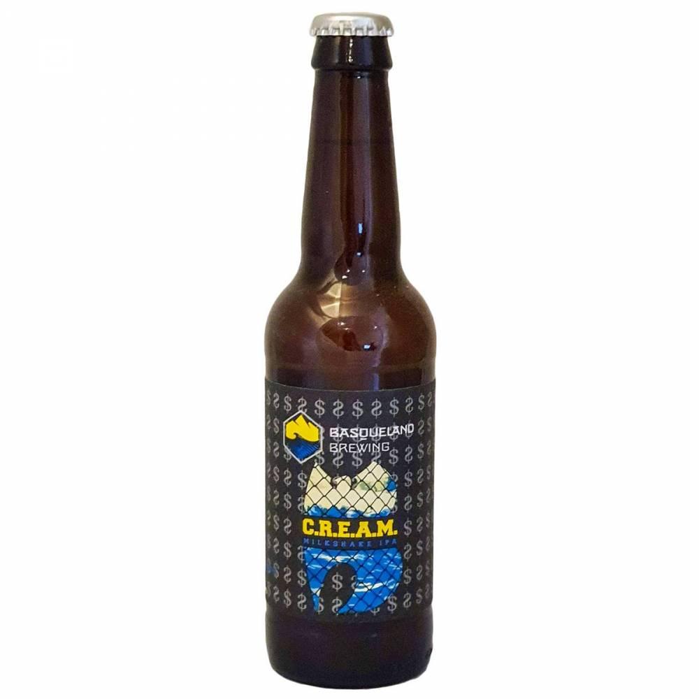 Bière C.R.E.A.M. - 33 cl - Basqueland Brewing Project