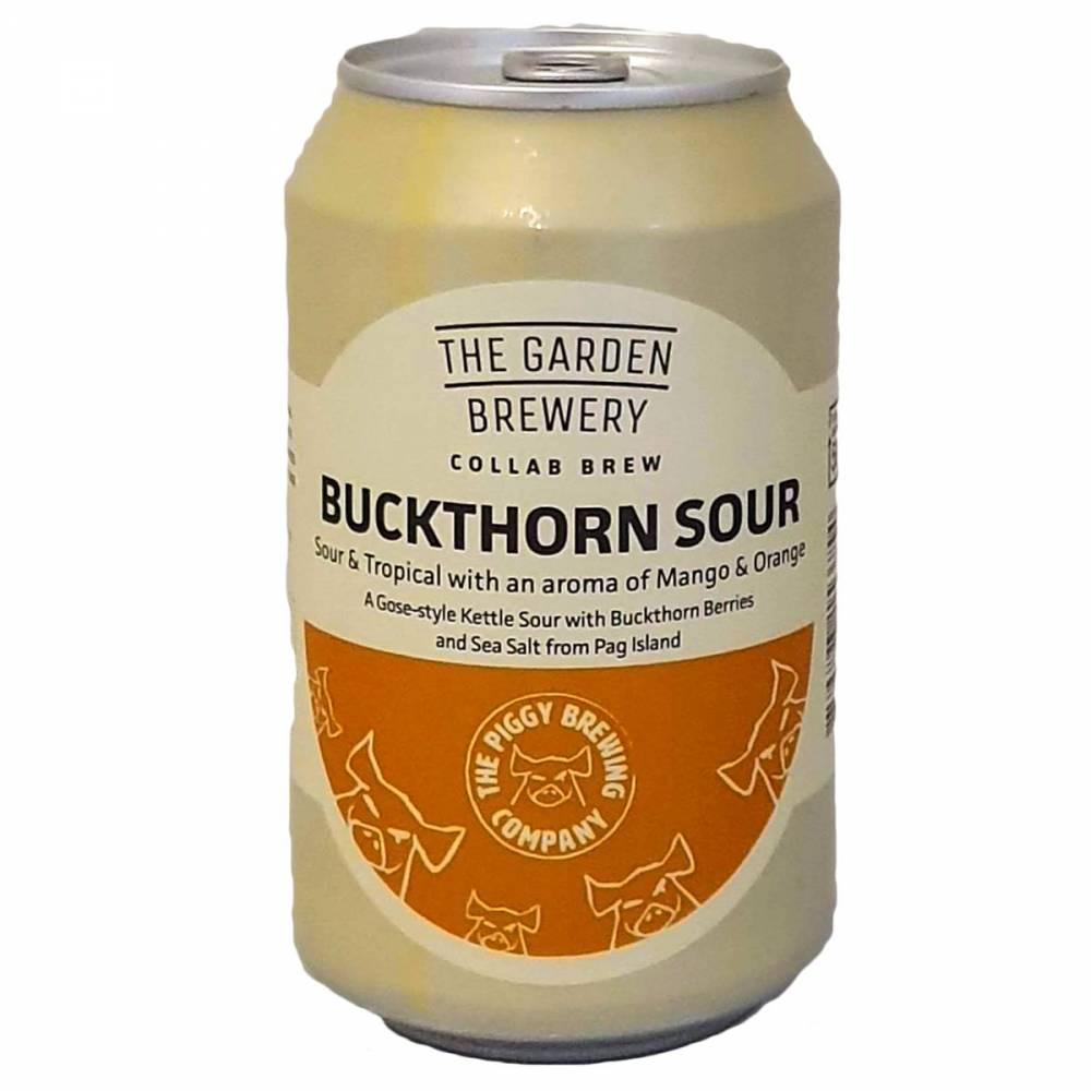 Bière Buckthorn Sour - 33 cl - The Garden Brewery x Piggy Brewing
