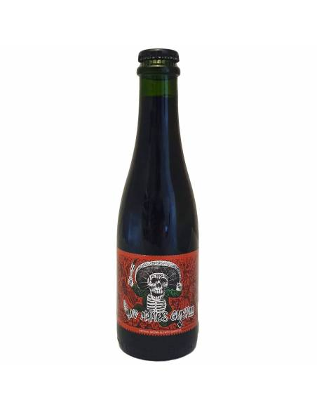 No Mames Guey!!!! La Calavera Brewing Coop Imperial Brown Chipotle Piment Whisky Barrel Aged Bière Artisanale Bieronomy