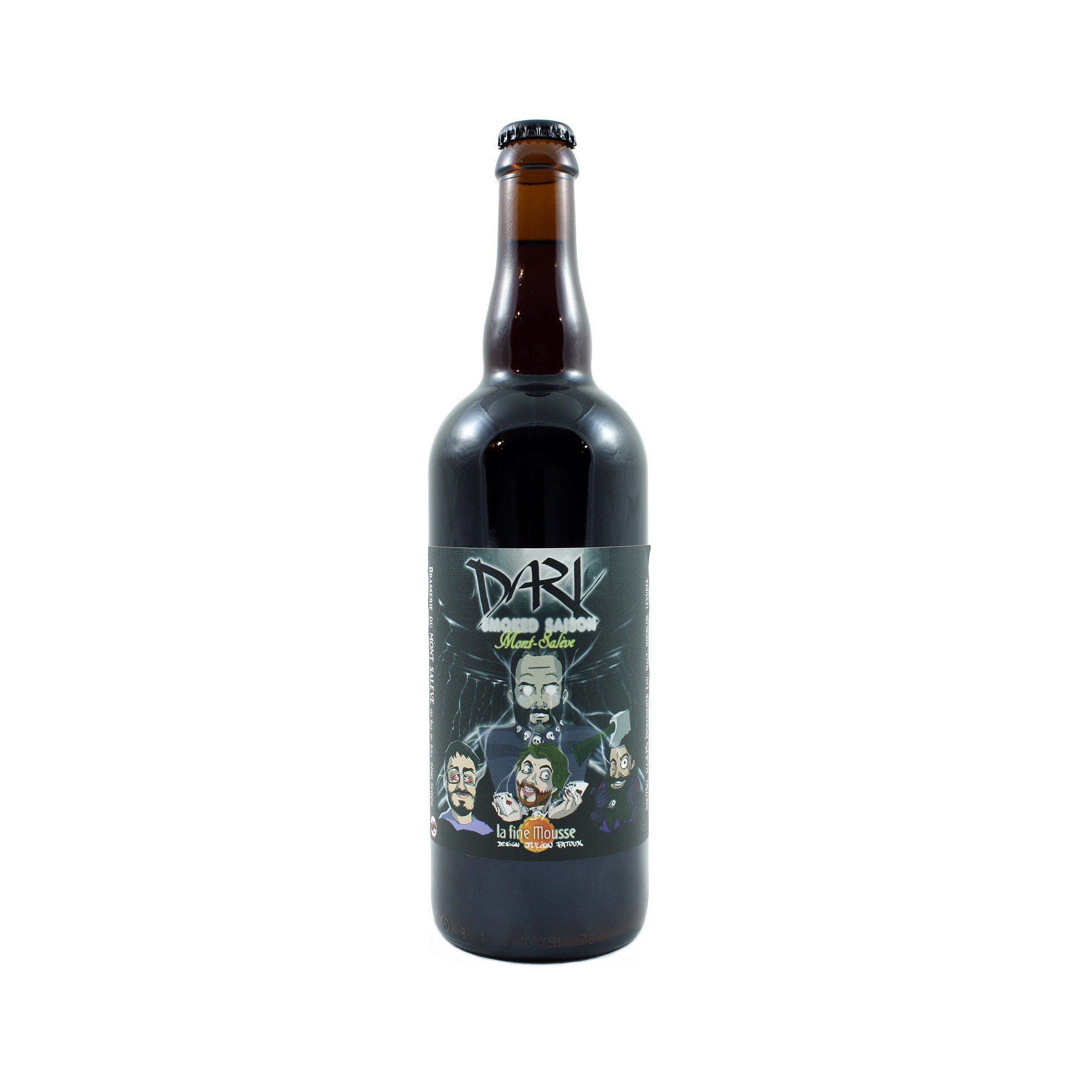 Dark Smoked Saison 75 cl
