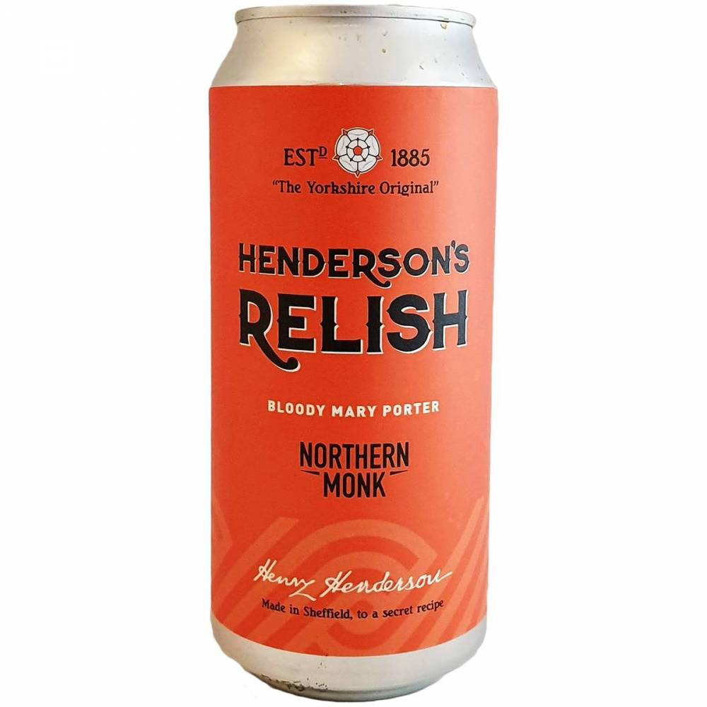 Henderson's Relish // Bloody Mary Porter - 44 cl - Northern Monk
