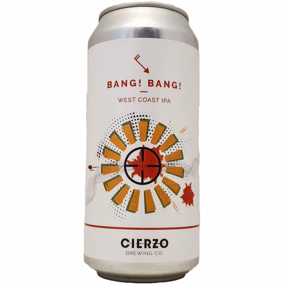 Bang! Bang! Cierzo West Coast IPA Cierzo Bière Artisanale Craft Beer Bieronomy Espagne