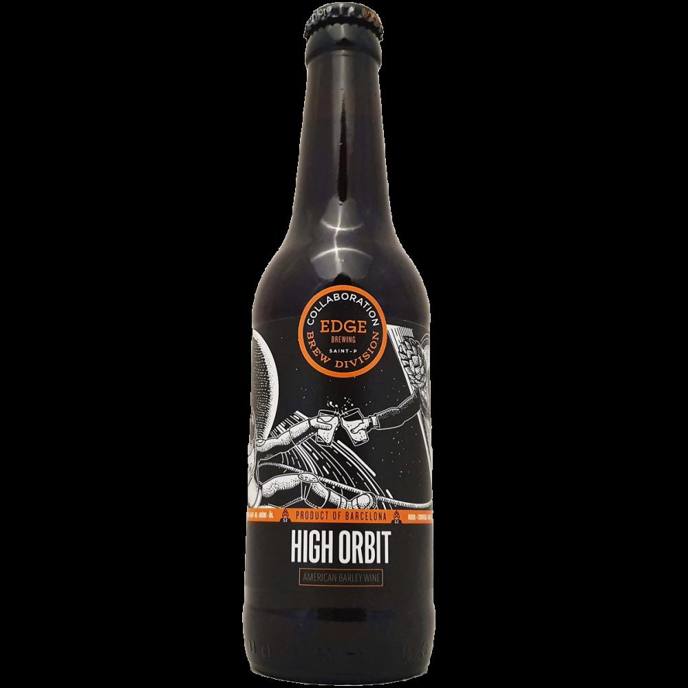 High Orbit Barley Wine - 33 cl - Edge Brewing x Brew Division