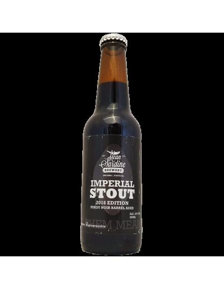 Imperial Stout 2016 Pinot Noir BA - 33 cl - Mean Sardine