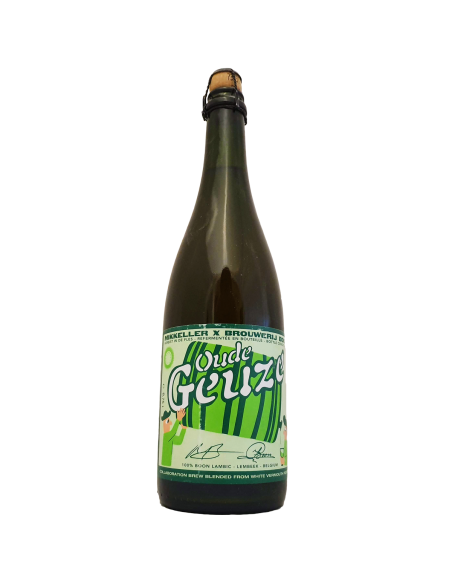Oude Geuze White Vermouth Foeders 75 cl