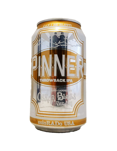 Pinner Throwback Session IPA Oskar Blues Brewery Bière Artisanale Craft Beer États-Unis Colorado Bieronomy
