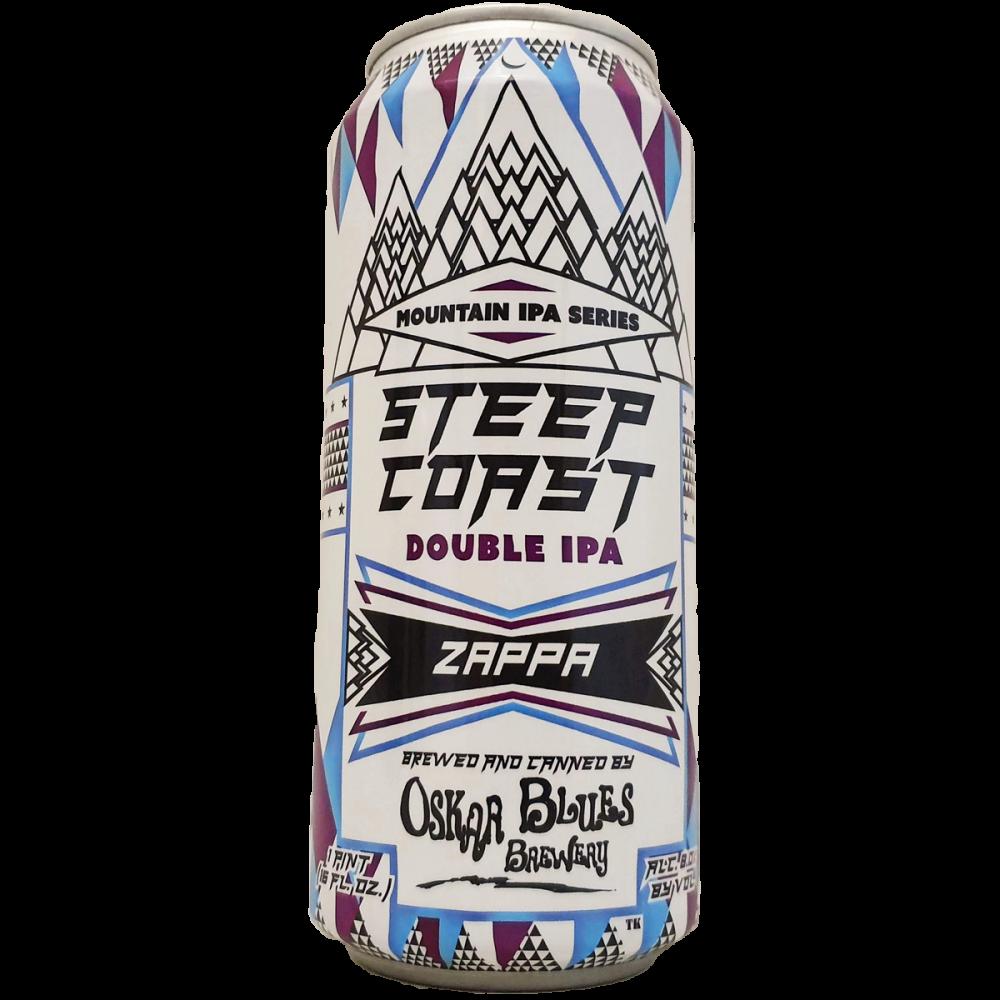 Steep Coast Zappa Double IPA - 46,8 cl - Oskar Blues Brewery
