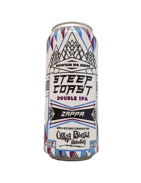 Steep Coast Zappa Double IPA - 46,8 cl - Oskar Blues Brewery